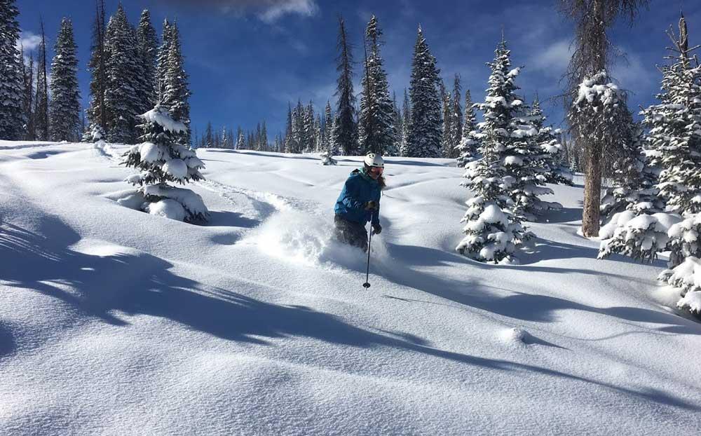 Wolf Creek capte la neige mieux que toute autre station de ski du Colorado.