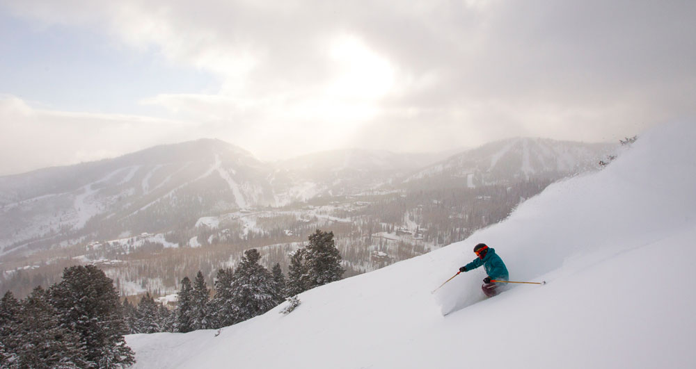 Park City brings a potent combination of town and mountain, and is 35 min from Texas-friendly airport