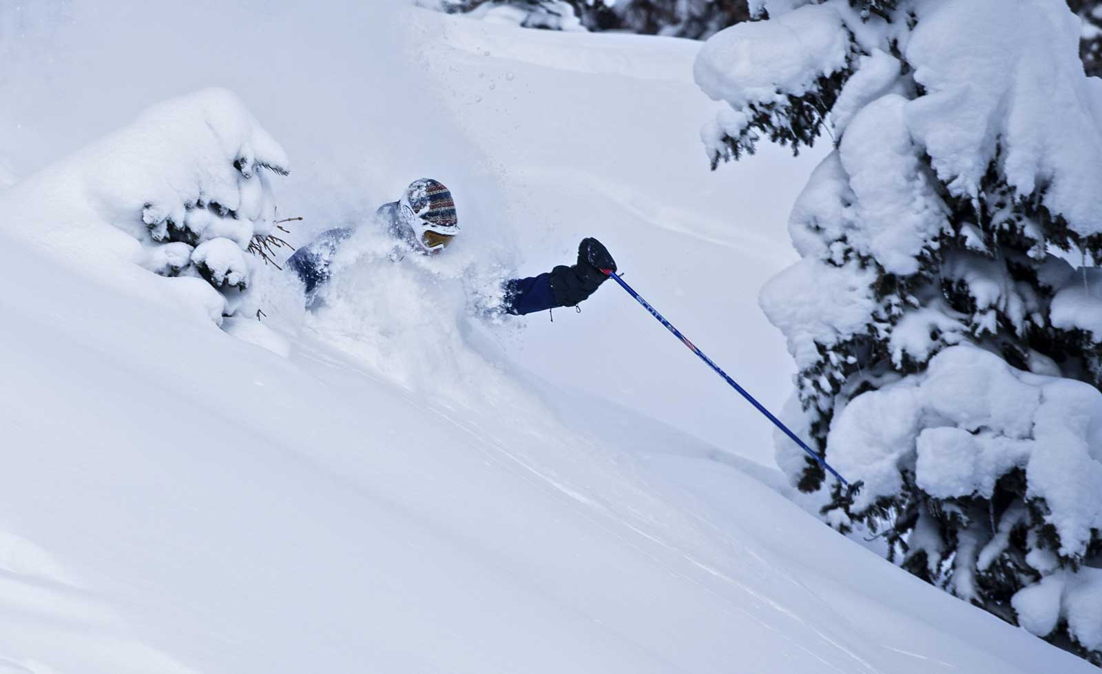 Powder skiing at Wolf Creek can be the stuff of legend.